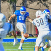 Hamilton College TE/P Billy Wagner (89)<br /> <br /> 9/15/18 3:05:50 PM Football:  Tufts University v Hamilton College at Steuben Field, Hamilton College, Clinton, NY<br /> <br /> Final:  Tufts 29  Hamilton 2<br /> <br /> Photo by Josh McKee