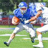 Hamilton College running back Mitch Bierman (27)<br /> <br /> 9/15/18 1:50:18 PM Football:  Tufts University v Hamilton College at Steuben Field, Hamilton College, Clinton, NY<br /> <br /> Final:  Tufts 29  Hamilton 2<br /> <br /> Photo by Josh McKee