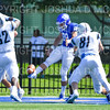 Hamilton College TE/P Billy Wagner (89)<br /> <br /> 9/15/18 1:08:32 PM Football:  Tufts University v Hamilton College at Steuben Field, Hamilton College, Clinton, NY<br /> <br /> Final:  Tufts 29  Hamilton 2<br /> <br /> Photo by Josh McKee