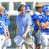 Hamilton College assistant coach<br /> <br /> 9/15/18 1:23:55 PM Football:  Tufts University v Hamilton College at Steuben Field, Hamilton College, Clinton, NY<br /> <br /> Final:  Tufts 29  Hamilton 2<br /> <br /> Photo by Josh McKee