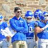 Hamilton College assistant coach<br /> <br /> 9/15/18 1:27:46 PM Football:  Tufts University v Hamilton College at Steuben Field, Hamilton College, Clinton, NY<br /> <br /> Final:  Tufts 29  Hamilton 2<br /> <br /> Photo by Josh McKee