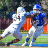 Hamilton College wide receiver Joe Schmidt (3)<br /> <br /> 9/15/18 3:22:56 PM Football:  Tufts University v Hamilton College at Steuben Field, Hamilton College, Clinton, NY<br /> <br /> Final:  Tufts 29  Hamilton 2<br /> <br /> Photo by Josh McKee