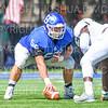 Hamilton College offensive lineman Micah Balogh (52)<br /> <br /> 9/15/18 1:39:49 PM Football:  Tufts University v Hamilton College at Steuben Field, Hamilton College, Clinton, NY<br /> <br /> Final:  Tufts 29  Hamilton 2<br /> <br /> Photo by Josh McKee