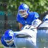 Hamilton College linebacker Cole Burchill (6)<br /> <br /> 9/15/18 1:11:58 PM Football:  Tufts University v Hamilton College at Steuben Field, Hamilton College, Clinton, NY<br /> <br /> Final:  Tufts 29  Hamilton 2<br /> <br /> Photo by Josh McKee