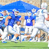 Hamilton College defensive back Sam Bowen (9)<br /> <br /> 9/15/18 1:59:47 PM Football:  Tufts University v Hamilton College at Steuben Field, Hamilton College, Clinton, NY<br /> <br /> Final:  Tufts 29  Hamilton 2<br /> <br /> Photo by Josh McKee