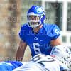 Hamilton College linebacker Cole Burchill (6)<br /> <br /> 9/15/18 1:04:54 PM Football:  Tufts University v Hamilton College at Steuben Field, Hamilton College, Clinton, NY<br /> <br /> Final:  Tufts 29  Hamilton 2<br /> <br /> Photo by Josh McKee