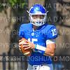 Hamilton College quarterback Kenny Gray (15)<br /> <br /> 9/15/18 1:40:31 PM Football:  Tufts University v Hamilton College at Steuben Field, Hamilton College, Clinton, NY<br /> <br /> Final:  Tufts 29  Hamilton 2<br /> <br /> Photo by Josh McKee