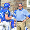 Hamilton College head coach Dave Murray<br /> <br /> 9/15/18 1:57:57 PM Football:  Tufts University v Hamilton College at Steuben Field, Hamilton College, Clinton, NY<br /> <br /> Final:  Tufts 29  Hamilton 2<br /> <br /> Photo by Josh McKee
