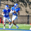 Hamilton College quarterback Sam Foley (10)<br /> <br /> 9/15/18 3:22:09 PM Football:  Tufts University v Hamilton College at Steuben Field, Hamilton College, Clinton, NY<br /> <br /> Final:  Tufts 29  Hamilton 2<br /> <br /> Photo by Josh McKee