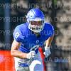 Hamilton College wide receiver Ryan Phelps (8)<br /> <br /> 9/15/18 3:14:18 PM Football:  Tufts University v Hamilton College at Steuben Field, Hamilton College, Clinton, NY<br /> <br /> Final:  Tufts 29  Hamilton 2<br /> <br /> Photo by Josh McKee
