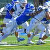 Hamilton College linebacker Sean Tolton (1)<br /> <br /> 9/15/18 1:12:52 PM Football:  Tufts University v Hamilton College at Steuben Field, Hamilton College, Clinton, NY<br /> <br /> Final:  Tufts 29  Hamilton 2<br /> <br /> Photo by Josh McKee