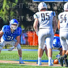 Hamilton College linebacker Jeremy Barr (31)<br /> <br /> 9/15/18 3:23:25 PM Football:  Tufts University v Hamilton College at Steuben Field, Hamilton College, Clinton, NY<br /> <br /> Final:  Tufts 29  Hamilton 2<br /> <br /> Photo by Josh McKee
