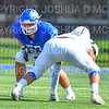 Hamilton College offensive lineman Mike Spicer (53)<br /> <br /> 9/15/18 2:26:27 PM Football:  Tufts University v Hamilton College at Steuben Field, Hamilton College, Clinton, NY<br /> <br /> Final:  Tufts 29  Hamilton 2<br /> <br /> Photo by Josh McKee