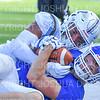 Hamilton College wide receiver Will Budington (18)<br /> <br /> 9/15/18 2:26:42 PM Football:  Tufts University v Hamilton College at Steuben Field, Hamilton College, Clinton, NY<br /> <br /> Final:  Tufts 29  Hamilton 2<br /> <br /> Photo by Josh McKee