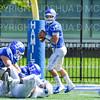 Hamilton College quarterback Kenny Gray (15)<br /> <br /> 9/15/18 1:07:48 PM Football:  Tufts University v Hamilton College at Steuben Field, Hamilton College, Clinton, NY<br /> <br /> Final:  Tufts 29  Hamilton 2<br /> <br /> Photo by Josh McKee