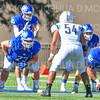 Hamilton College quarterback Sam Foley (10)<br /> <br /> 9/15/18 3:20:37 PM Football:  Tufts University v Hamilton College at Steuben Field, Hamilton College, Clinton, NY<br /> <br /> Final:  Tufts 29  Hamilton 2<br /> <br /> Photo by Josh McKee