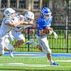 Hamilton College wide receiver Sam Robinson (26)<br /> <br /> 9/15/18 2:45:24 PM Football:  Tufts University v Hamilton College at Steuben Field, Hamilton College, Clinton, NY<br /> <br /> Final:  Tufts 29  Hamilton 2<br /> <br /> Photo by Josh McKee