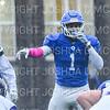 Hamilton College linebacker Sean Tolton (1)<br /> <br /> 10/27/18 2:17:43 PM Football: Williams College vs Hamilton College, at Steuben Field, Hamilton College, Clinton, NY<br /> <br /> Final:  Williams 27   Hamilton 17<br /> <br /> Photo by Josh McKee