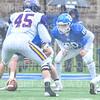 Hamilton College fullback Eddie Allen (80)<br /> <br /> 10/27/18 2:35:16 PM Football: Williams College vs Hamilton College, at Steuben Field, Hamilton College, Clinton, NY<br /> <br /> Final:  Williams 27   Hamilton 17<br /> <br /> Photo by Josh McKee