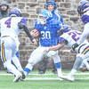 Hamilton College fullback David Kagan (30)<br /> <br /> 10/27/18 2:36:26 PM Football: Williams College vs Hamilton College, at Steuben Field, Hamilton College, Clinton, NY<br /> <br /> Final:  Williams 27   Hamilton 17<br /> <br /> Photo by Josh McKee