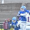Hamilton College defensive back Christian Snell (28)<br /> <br /> 10/27/18 2:29:39 PM Football: Williams College vs Hamilton College, at Steuben Field, Hamilton College, Clinton, NY<br /> <br /> Final:  Williams 27   Hamilton 17<br /> <br /> Photo by Josh McKee