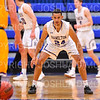 Hamilton College guard Kena Gilmour (24)<br /> <br /> 12/8/18 4:12:50 PM Men's Basketball: Elmira College v #4 Hamilton College at Margaret Bundy Scott Field House, Hamilton College, Clinton, NY<br /> <br /> Final: Elmira 67  #4 Hamilton 98<br /> <br /> Photo by Josh McKee