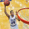 Hamilton College guard Kena Gilmour (24)<br /> <br /> 12/8/18 4:55:21 PM Men's Basketball: Elmira College v #4 Hamilton College at Margaret Bundy Scott Field House, Hamilton College, Clinton, NY<br /> <br /> Final: Elmira 67  #4 Hamilton 98<br /> <br /> Photo by Josh McKee