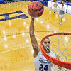 Hamilton College guard Kena Gilmour (24)<br /> <br /> 12/8/18 4:55:22 PM Men's Basketball: Elmira College v #4 Hamilton College at Margaret Bundy Scott Field House, Hamilton College, Clinton, NY<br /> <br /> Final: Elmira 67  #4 Hamilton 98<br /> <br /> Photo by Josh McKee
