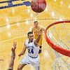 Hamilton College guard Kena Gilmour (24)<br /> <br /> 12/8/18 4:58:39 PM Men's Basketball: Elmira College v #4 Hamilton College at Margaret Bundy Scott Field House, Hamilton College, Clinton, NY<br /> <br /> Final: Elmira 67  #4 Hamilton 98<br /> <br /> Photo by Josh McKee