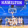 Team, 1,000 Point Scorers<br /> <br /> 12/8/18 5:34:14 PM Men's Basketball: Elmira College v #4 Hamilton College at Margaret Bundy Scott Field House, Hamilton College, Clinton, NY<br /> <br /> Final: Elmira 67  #4 Hamilton 98<br /> <br /> Photo by Josh McKee