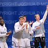 Team, Celebration<br /> <br /> 12/8/18 4:04:23 PM Men's Basketball: Elmira College v #4 Hamilton College at Margaret Bundy Scott Field House, Hamilton College, Clinton, NY<br /> <br /> Final: Elmira 67  #4 Hamilton 98<br /> <br /> Photo by Josh McKee