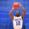 Hamilton College guard Sayo Denloye (12)<br /> <br /> 12/8/18 4:36:00 PM Men's Basketball: Elmira College v #4 Hamilton College at Margaret Bundy Scott Field House, Hamilton College, Clinton, NY<br /> <br /> Final: Elmira 67  #4 Hamilton 98<br /> <br /> Photo by Josh McKee