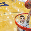 Hamilton College G/F Peter Hoffmann (30)<br /> <br /> 12/8/18 4:55:55 PM Men's Basketball: Elmira College v #4 Hamilton College at Margaret Bundy Scott Field House, Hamilton College, Clinton, NY<br /> <br /> Final: Elmira 67  #4 Hamilton 98<br /> <br /> Photo by Josh McKee