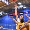 Hamilton College G/F Michael Grassey (11), 1,000th point basket<br /> <br /> 12/8/18 4:28:38 PM Men's Basketball: Elmira College v #4 Hamilton College at Margaret Bundy Scott Field House, Hamilton College, Clinton, NY<br /> <br /> Final: Elmira 67  #4 Hamilton 98<br /> <br /> Photo by Josh McKee