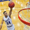 Hamilton College guard Kena Gilmour (24)<br /> <br /> 12/8/18 4:53:30 PM Men's Basketball: Elmira College v #4 Hamilton College at Margaret Bundy Scott Field House, Hamilton College, Clinton, NY<br /> <br /> Final: Elmira 67  #4 Hamilton 98<br /> <br /> Photo by Josh McKee