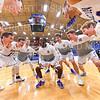 Team<br /> <br /> 12/8/18 4:03:02 PM Men's Basketball: Elmira College v #4 Hamilton College at Margaret Bundy Scott Field House, Hamilton College, Clinton, NY<br /> <br /> Final: Elmira 67  #4 Hamilton 98<br /> <br /> Photo by Josh McKee
