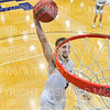Hamilton College guard Mark Lutz (3)<br /> <br /> 12/8/18 4:56:05 PM Men's Basketball: Elmira College v #4 Hamilton College at Margaret Bundy Scott Field House, Hamilton College, Clinton, NY<br /> <br /> Final: Elmira 67  #4 Hamilton 98<br /> <br /> Photo by Josh McKee