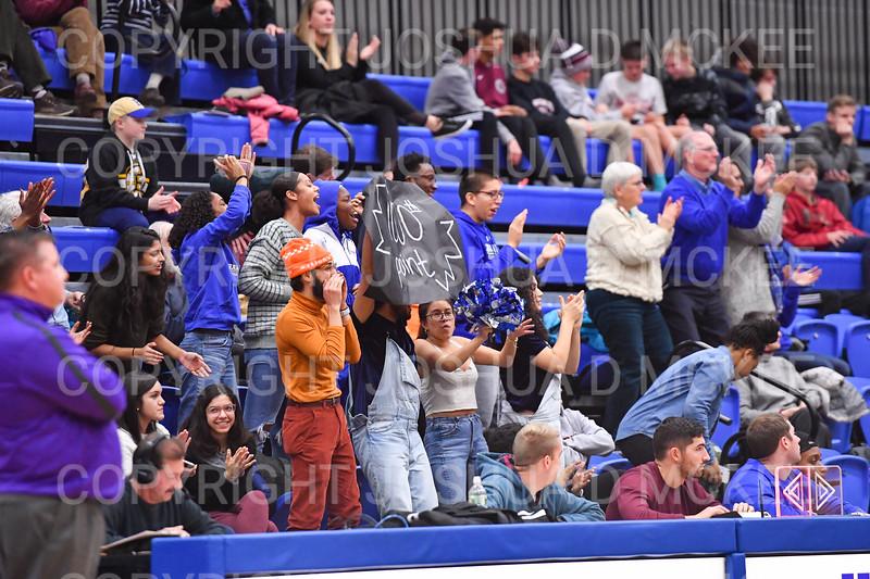 Crowd<br /> <br /> 12/8/18 4:28:47 PM Men's Basketball: Elmira College v #4 Hamilton College at Margaret Bundy Scott Field House, Hamilton College, Clinton, NY<br /> <br /> Final: Elmira 67  #4 Hamilton 98<br /> <br /> Photo by Josh McKee