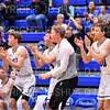 Team, Celebration<br /> <br /> 1/6/19 3:21:42 PM Men's Basketball:  Trinity College v Hamilton College at Margaret Bundy Scott Field House, Hamilton College, Clinton, NY<br /> <br /> Final: Trinity 70   Hamilton 72<br /> <br /> Photo by Josh McKee