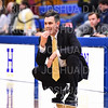 Hamilton College head coach Adam Stockwell<br /> <br /> 1/6/19 3:39:13 PM Men's Basketball:  Trinity College v Hamilton College at Margaret Bundy Scott Field House, Hamilton College, Clinton, NY<br /> <br /> Final: Trinity 70   Hamilton 72<br /> <br /> Photo by Josh McKee