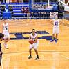 Hamilton College guard Kena Gilmour (24)<br /> <br /> 1/6/19 3:05:59 PM Men's Basketball:  Trinity College v Hamilton College at Margaret Bundy Scott Field House, Hamilton College, Clinton, NY<br /> <br /> Final: Trinity 70   Hamilton 72<br /> <br /> Photo by Josh McKee