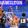 Hamilton College guard Kena Gilmour (24)<br /> <br /> 1/6/19 2:20:31 PM Men's Basketball:  Trinity College v Hamilton College at Margaret Bundy Scott Field House, Hamilton College, Clinton, NY<br /> <br /> Final: Trinity 70   Hamilton 72<br /> <br /> Photo by Josh McKee