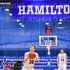 Hamilton College G/F Peter Hoffmann (30)<br /> <br /> 1/6/19 2:35:03 PM Men's Basketball:  Trinity College v Hamilton College at Margaret Bundy Scott Field House, Hamilton College, Clinton, NY<br /> <br /> Final: Trinity 70   Hamilton 72<br /> <br /> Photo by Josh McKee