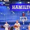 Hamilton College G/F Spencer Kendall (21)<br /> <br /> 1/6/19 2:26:03 PM Men's Basketball:  Trinity College v Hamilton College at Margaret Bundy Scott Field House, Hamilton College, Clinton, NY<br /> <br /> Final: Trinity 70   Hamilton 72<br /> <br /> Photo by Josh McKee