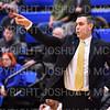 Hamilton College head coach Adam Stockwell<br /> <br /> 1/6/19 3:25:48 PM Men's Basketball:  Trinity College v Hamilton College at Margaret Bundy Scott Field House, Hamilton College, Clinton, NY<br /> <br /> Final: Trinity 70   Hamilton 72<br /> <br /> Photo by Josh McKee