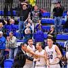 Celebration, Crowd<br /> <br /> 1/6/19 3:51:42 PM Men's Basketball:  Trinity College v Hamilton College at Margaret Bundy Scott Field House, Hamilton College, Clinton, NY<br /> <br /> Final: Trinity 70   Hamilton 72<br /> <br /> Photo by Josh McKee