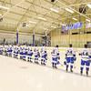 Team<br /> <br /> 11/16/18 7:01:10 PM Men's Hockey:  Amherst College v Hamilton College at Russell Sage Rink, Hamilton College, Clinton, NY<br /> <br /> Final:  Amherst  2  Hamilton 3<br /> <br /> Photo by Josh McKee