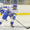 Hamilton College forward Justin Felhaber (25)<br /> <br /> 11/16/18 7:04:41 PM Men's Hockey:  Amherst College v Hamilton College at Russell Sage Rink, Hamilton College, Clinton, NY<br /> <br /> Final:  Amherst  2  Hamilton 3<br /> <br /> Photo by Josh McKee