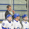 Hamilton College head coach Rob Haberbusch<br /> <br /> 11/16/18 8:50:21 PM Men's Hockey:  Amherst College v Hamilton College at Russell Sage Rink, Hamilton College, Clinton, NY<br /> <br /> Final:  Amherst  2  Hamilton 3<br /> <br /> Photo by Josh McKee