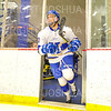 Hamilton College forward Rory Gagnon (10)<br /> <br /> 11/16/18 7:49:08 PM Men's Hockey:  Amherst College v Hamilton College at Russell Sage Rink, Hamilton College, Clinton, NY<br /> <br /> Final:  Amherst  2  Hamilton 3<br /> <br /> Photo by Josh McKee